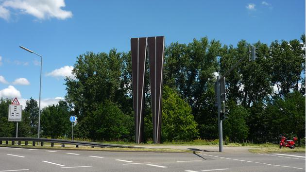 Denkmalskulptur für den Rangierbahnhof